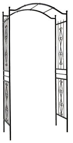 Gardman R355 Charleston Arch, Black, 3′ 7″ Wide x 7′ 7″ High