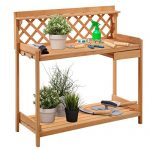Giantex Potting Bench Outdoor Garden Work Bench Station Plan…