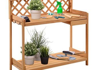 Giantex Potting Bench Outdoor Garden Work Bench Station Plan...