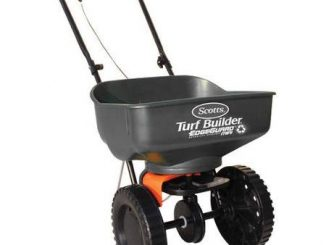 Scotts Turf Builder EdgeGuard Mini Broadcast Spreader (Holds...