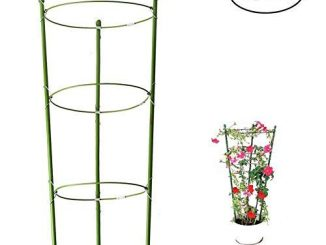 Tomoto and Plant Support Cage Plants Holder Stand Stakes, Tr...