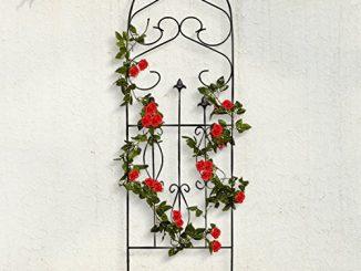 """Amagabeli Garden Trellis for Climbing Plants 60"""" x 18"""" Rustp..."""