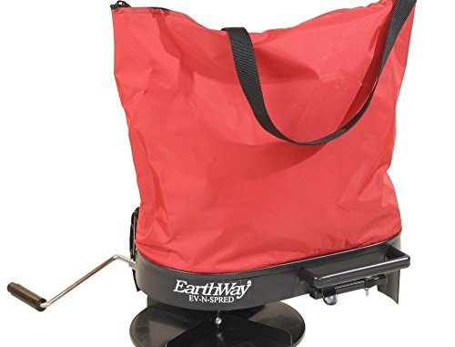 Earthway 2750 Hand-Operated Bag Spreader/Seeder,Red,25 Pound...
