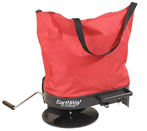 Earthway 2750 Hand-Operated Bag Spreader/Seeder,Red,25 Pound…
