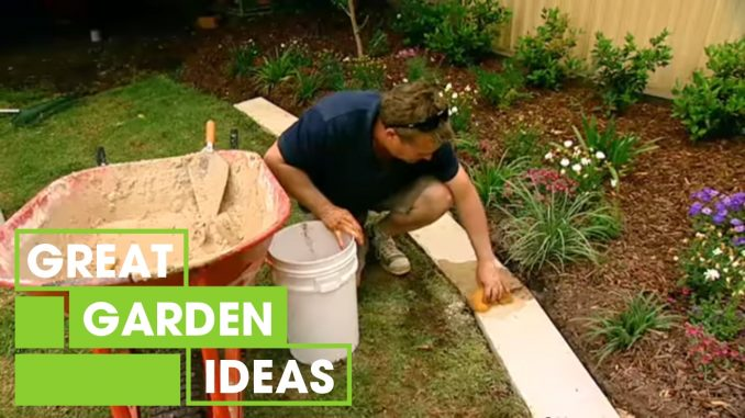 How To Make Great Garden Edging | Gardening | Great Home Ide...